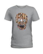 Beagle Skull 1012 Ladies T-Shirt thumbnail