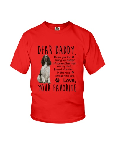 ENGLISH SPRINGER SPANIEL DADDY MUG 1905