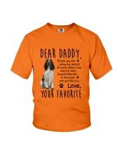 ENGLISH SPRINGER SPANIEL DADDY MUG 1905 Youth T-Shirt front
