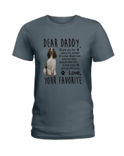 ENGLISH SPRINGER SPANIEL DADDY MUG 1905 Ladies T-Shirt front