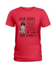ENGLISH SPRINGER SPANIEL DADDY MUG 1905 Ladies T-Shirt front