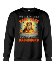 Dachshund And Halloween  Crewneck Sweatshirt front