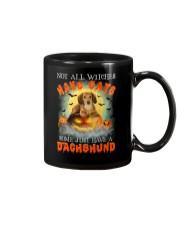 Dachshund And Halloween  Mug thumbnail