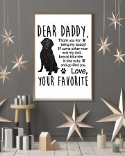 Flat-Coated Retriever Favorite 11x17 Poster lifestyle-holiday-poster-1