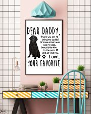 Flat-Coated Retriever Favorite 11x17 Poster lifestyle-poster-6