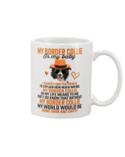 Border Collie is my baby 806 Mug front