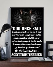 Scottish Terrier God Once Said Poster 2901  11x17 Poster lifestyle-poster-2