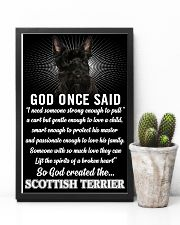 Scottish Terrier God Once Said Poster 2901  11x17 Poster lifestyle-poster-8