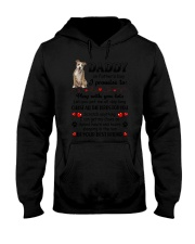 American Staffordshire Terrier on Fathers day Hooded Sweatshirt thumbnail