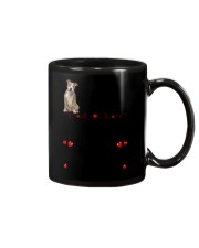 American Staffordshire Terrier on Fathers day Mug tile
