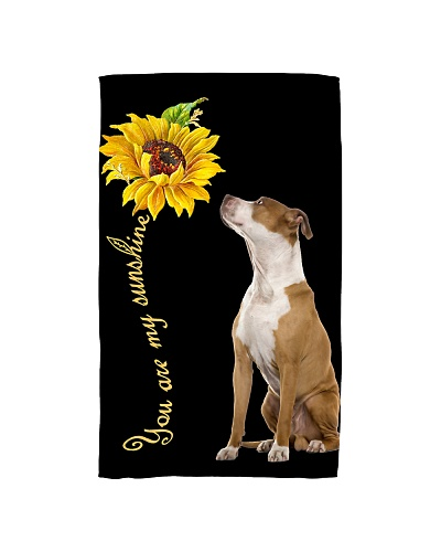 American Staffordshire Sunflower You Are 0501
