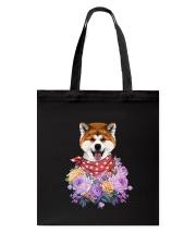 Akita flowers Tote Bag thumbnail