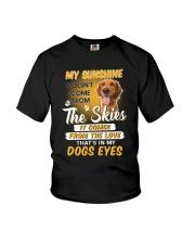 Golden Retriever and sunshine Youth T-Shirt thumbnail