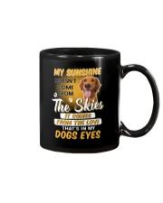 Golden Retriever and sunshine Mug thumbnail