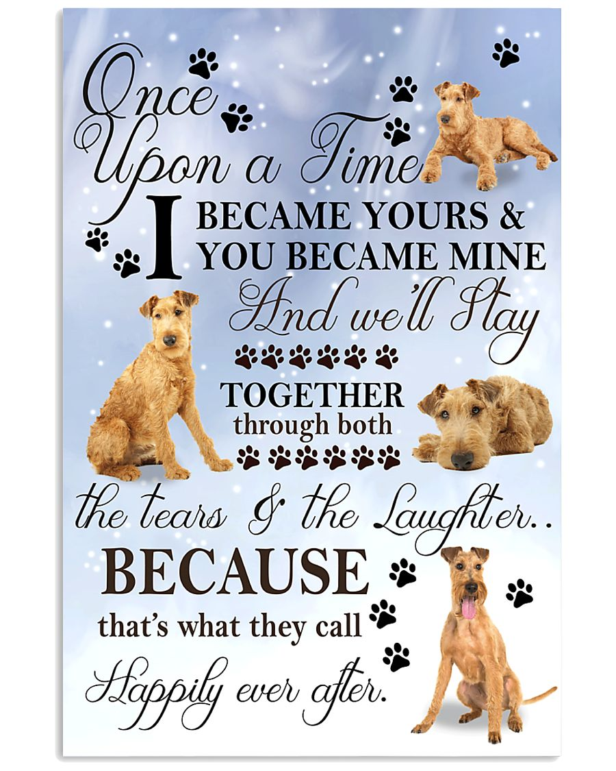 Irish Terrier I Became Yours 1001  11x17 Poster