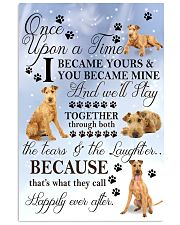 Irish Terrier I Became Yours 1001  11x17 Poster front