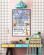 Irish Terrier I Became Yours 1001  11x17 Poster lifestyle-poster-6