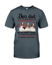DEAR DAD ENGLISH SPRINGER SPANIEL Classic T-Shirt thumbnail