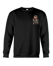 Rottweiler Pocket Crewneck Sweatshirt thumbnail