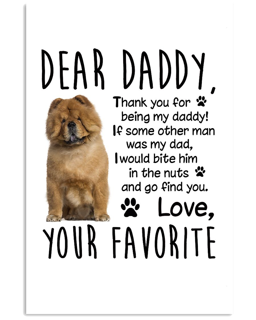 Chow Chow Favorite 11x17 Poster