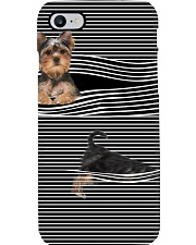 Yorkshire Terrier Striped New Phone Case thumbnail