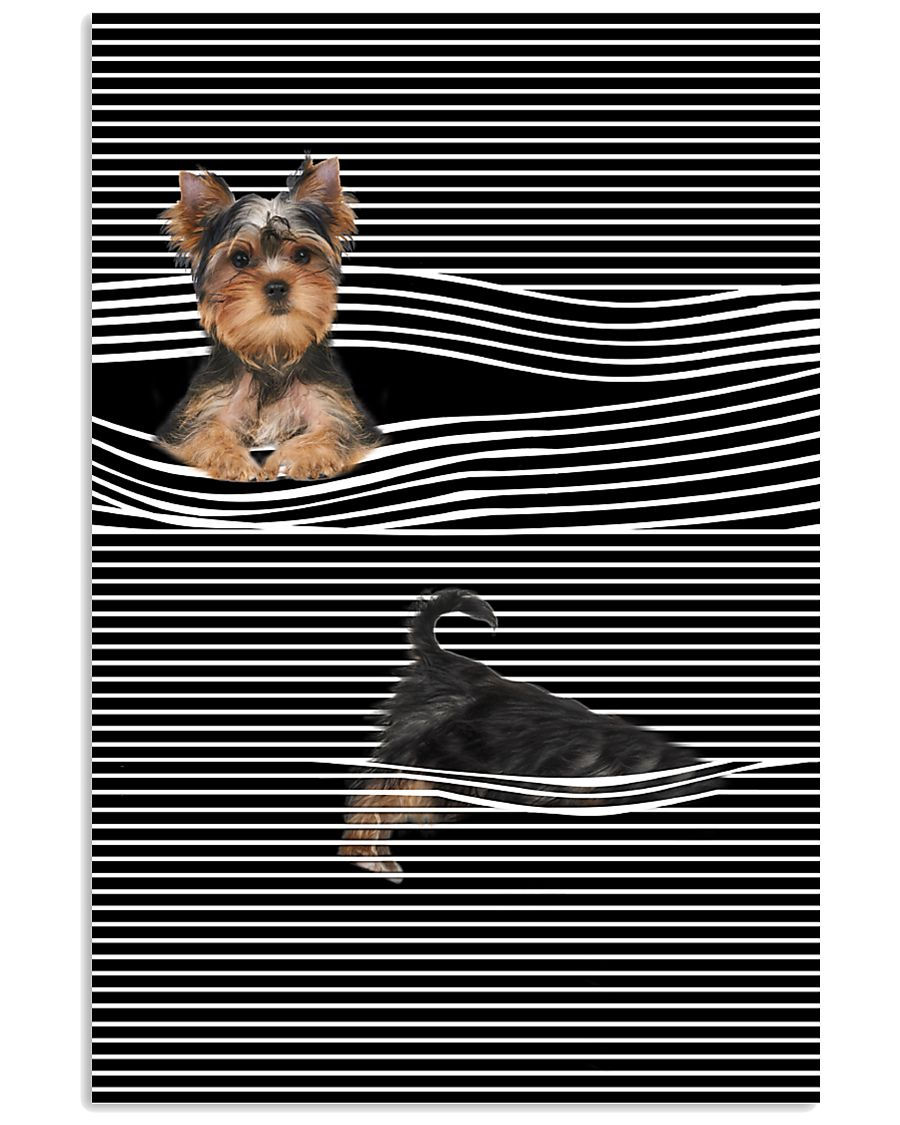 Yorkshire Terrier Striped New 11x17 Poster