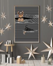 Yorkshire Terrier Striped New 11x17 Poster lifestyle-holiday-poster-1