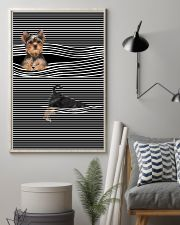 Yorkshire Terrier Striped New 11x17 Poster lifestyle-poster-1