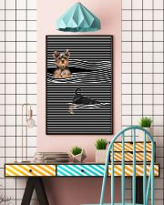 Yorkshire Terrier Striped New 11x17 Poster lifestyle-poster-6