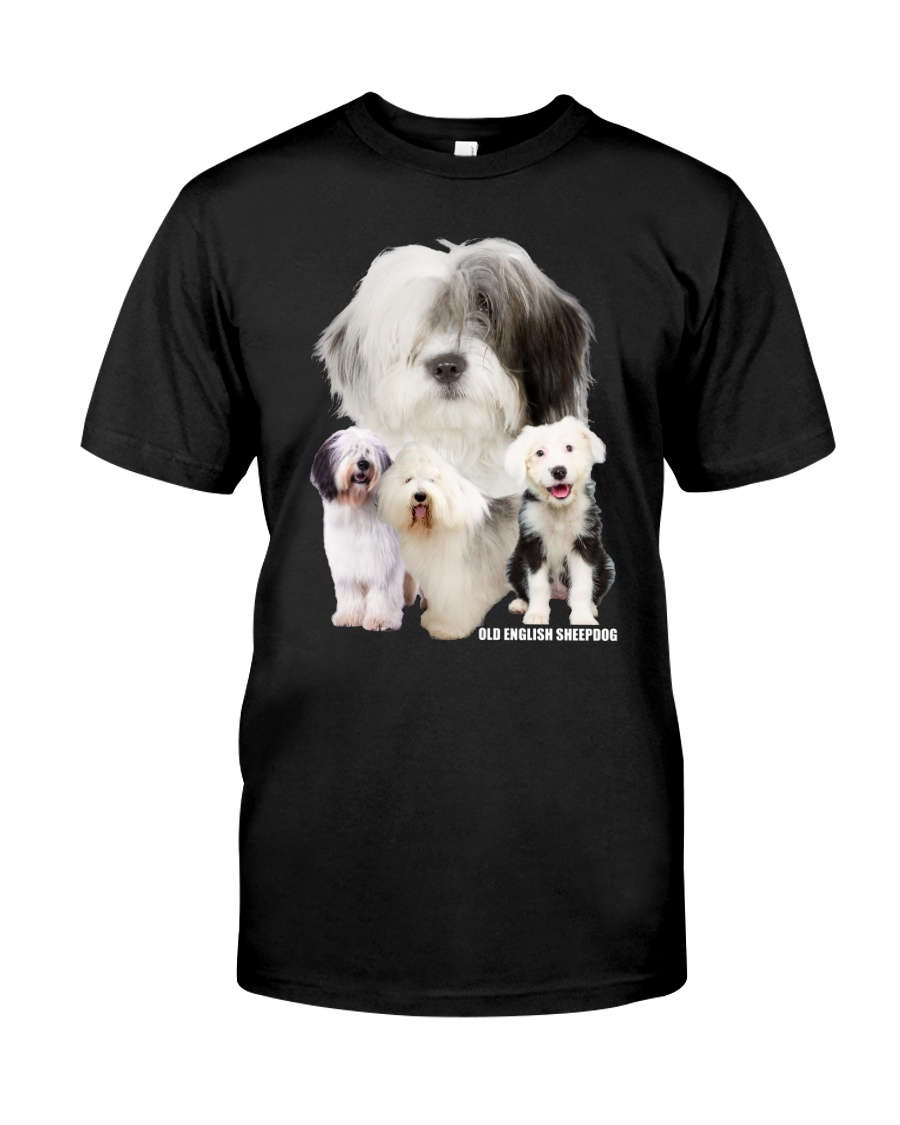 Old English Sheepdog Awesome Family 0701 Classic T-Shirt