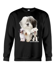 Old English Sheepdog Awesome Family 0701 Crewneck Sweatshirt tile