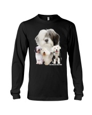 Old English Sheepdog Awesome Family 0701 Long Sleeve Tee thumbnail