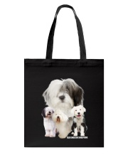 Old English Sheepdog Awesome Family 0701 Tote Bag tile