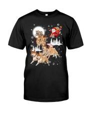 Shiba Inu Reindeers 1609 Classic T-Shirt thumbnail