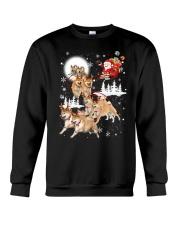 Shiba Inu Reindeers 1609 Crewneck Sweatshirt front