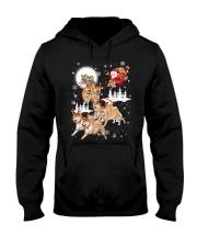 Shiba Inu Reindeers 1609 Hooded Sweatshirt thumbnail