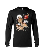Shiba Inu Reindeers 1609 Long Sleeve Tee thumbnail