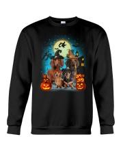 Gaea- Dachshund Halloween- 1508- 20 Crewneck Sweatshirt thumbnail