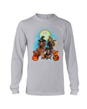 Gaea- Dachshund Halloween- 1508- 20 Long Sleeve Tee thumbnail