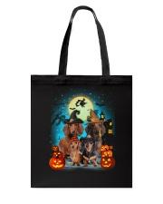 Gaea- Dachshund Halloween- 1508- 20 Tote Bag thumbnail