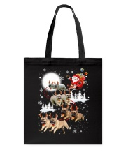 EROS - French Bulldogs Reindeers - 0611 - 74 Tote Bag tile