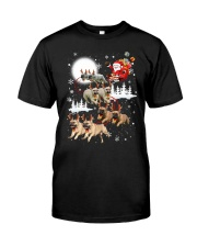EROS - French Bulldogs Reindeers - 0611 - 74 Classic T-Shirt tile