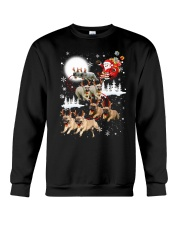 EROS - French Bulldogs Reindeers - 0611 - 74 Crewneck Sweatshirt thumbnail