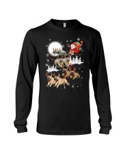 EROS - French Bulldogs Reindeers - 0611 - 74 Long Sleeve Tee tile