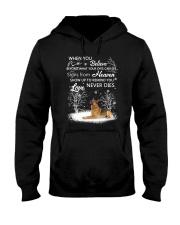 German Shepherd Love never dies 2210 Hooded Sweatshirt thumbnail