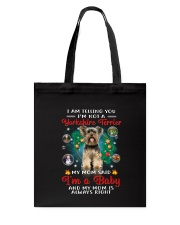 Yorkshire Terrier baby Tote Bag thumbnail