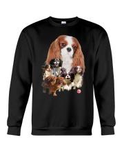 Cavalier King Charles Spaniel Running Crewneck Sweatshirt thumbnail