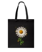 Siberian Husky Daisy Flower  Tote Bag thumbnail