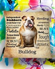 Bulldog Virtues 2206 Square Pillowcase aos-pillow-square-front-lifestyle-17