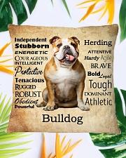 Bulldog Virtues 2206 Square Pillowcase aos-pillow-square-front-lifestyle-29